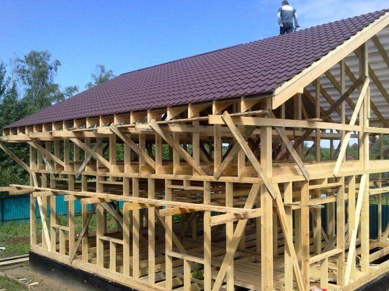 Строить своими руками каркасный дом